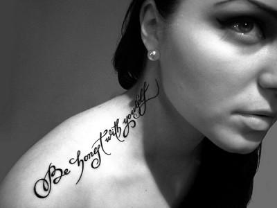 Фразы на итальянском для тату (татуировок) с переводом